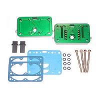Carburetor Metering Blocks and Components - Carburetor Metering Blocks - Quick Fuel Technology - Quick Fuel Technology Billet Metering Block Kit E85