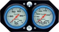 Gauges & Gauge Panels - Gauge Dash Panels - QuickCar Racing Products - QuickCar Ultra Nite Vertical Mount Sprint Panel - OP/WT