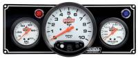 "Cockpit & Interior - QuickCar Racing Products - QuickCar 2-1 Gauge Panel w/ 5"" Tach- OP/WT"