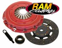 "Pontiac Firebird (3rd Gen 82-92) - Pontiac Firebird (3rd Gen) Drivetrain - Ram Automotive - RAM Automotive GM F Body V8 82-92Clutch 10.5"" x 1-1/8"" 26 Spline"
