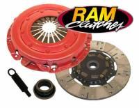 "Recently Added Products - Ram Automotive - Ram Automotive Power Grip HD Clutch Kit Single Disc 10-1/2"" Diameter 1-1/16"" x 10 Spline - Sprung Hub"