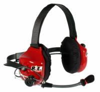 Radio System Parts & Accessories - Radio Headsets - Racing Electronics - Racing Electronics Platinum Racer Headset