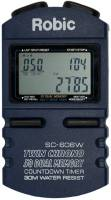 Timing & Scoring - Stopwatches - Robic - Robic SC-606W 50 Lap Memory Stopwatch w/ Countdown Timer