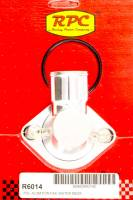 """Recently Added Products - Racing Power - Racing Power 15 Degree Water Neck 1-1/2"""" ID Hose Swivels O-Ring - Aluminum"""