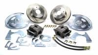 Rear Brake Kits - Street - Right Stuff Detailing Rear Disc Brake Conversion Manual Kits - Right Stuff Detailing - Right Stuff Detailing Rear Disc Conversion Kit GM 10/12 Bolt No E-Brake