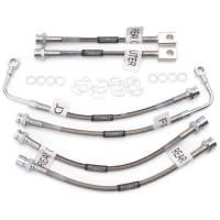 Brake Hoses - Brake Hose Sets - Russell Performance Products - Russell Street Legal Brake Hose Kit 98-02 Camaro w/ Trac Control