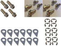 Exhaust System - Stage 8 Locking Fasteners - Stage 8 Header Bolt Kit - 6pt. Mixed Sizes (12)