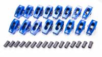 "Rocker Arms - Aluminum Roller Rocker Arms - SB Ford - Scorpion Performance - Scorpion SB Ford Roller Rocker Arms - 1.6 Ratio - 3/8"" Stud"