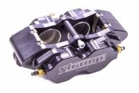 Recently Added Products - Strange Engineering - Strange Engineering Driver Side Brake Caliper Pro Race 4 Piston Billet Aluminum - Black Anodize