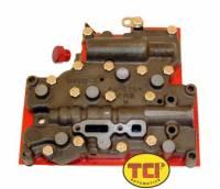 Transmission Service Parts - Powerglide Service Parts - TCI Automotive - TCI Powerglide Valve Body - Full Manual - Forward Shift Pattern