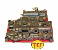 Transmission Service Parts - Powerglide Service Parts - TCI Automotive - TCI Powerglide Reverse Pattern Internally Controlled Circlematic Valve Body - Clutchless Style