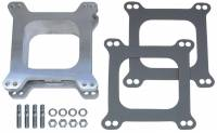"Air & Fuel System - Trans-Dapt Performance - Trans-Dapt Aluminum Carburetor Spacer - Holley/AFB 4 BBL - 2"" Tall - Open Center"