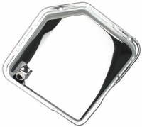 Drivetrain - Trans-Dapt Performance - Trans-Dapt Chrome Transmission Pan - TH-350 Plain Bottom