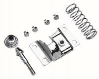 Body & Exterior - Trans-Dapt Performance - Trans-Dapt Hood Latch Kit - Chrome
