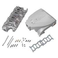 Engine Components - Trick Flow - Trick Flow Intake Manifold Ford 5.0L Track Heat Silver