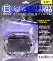 """Truxedo - Truxedo B-Light Bed Light System 18"""" Long White LED Battery Powered - Under Rail Mount"""