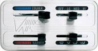"Dash Accessories - Climate Control Panels - Vintage Air - Vintage Air Gen II Climate Control Panel 4 Lever Horizontal 4-3/4 x 2-1/2"" Rectangle -"" Dash - Aluminum"