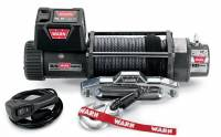 Trailer & Towing Accessories - Warn - Warn 9.5XP-S Winch 9500 w/ Synthetic Rope