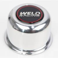 Wheel Parts & Accessories - Weld Racing Center Caps and Hub Covers - Weld Racing - Weld Polished Center Cap 5 Lug Application - 2.20""