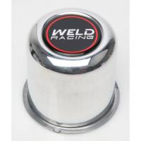 "Wheel Parts & Accessories - Weld Racing Center Caps and Hub Covers - Weld Racing - Weld Aluminum Center Cap 3-1/8"" Diameter"