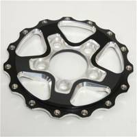 Weld Racing - Weld AlumaStar 2.0 5x 4.75 Rear Center Black