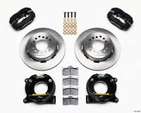 "Rear Brake Kits - Street / Truck - Wilwood Forged Dynalite Rear Parking Brake Kits - Wilwood Engineering - Wilwood Dynalite Brake System Rear 12.875"" Solid Steel Rotor - Offset Hat"