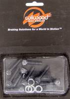 Brake Systems And Components - Disc Brake Rotor Bolts - Wilwood Engineering - Wilwood Rotor Bolt Kit - 8 Pc. - 5/16-18 x 1""