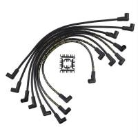 Spark Plug Wires - ACCEL SuperStock Spiral Core 5000 Series Spark Plug Wire Sets - Accel - ACCEL Super Stock Spiral Spark Plug Wire Set - Custom Fit - 8mm - Spiral Core - Black