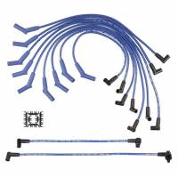 Street Performance USA - Accel - ACCEL Super Stock Spiral Spark Plug Wire Set - Custom Fit - 8mm - Spiral Core - Blue