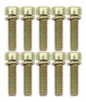 Carburetor Service Parts - Main Bodies - AED Performance - AED Throttle Body Screws (10 Pack)