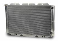 "Cooling & Heating - AFCO Racing Products - AFCO Pro Series Double Pass Aluminum Radiator - 19"" x 31"" x 3"""