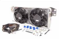 Recently Added Products - AFCO Racing Products - AFCO Racing Products Intercooler Heat Exchanger Fan Included Aluminum Natural - GM LS-Series