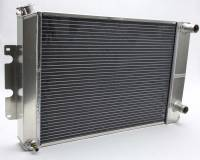 AFCO Radiators - AFCO Bolt-In Direct Fit Aluminum Radiators - AFCO Racing Products - AFCO 66-67 Chevelle Radiator Manual Transmission LS1