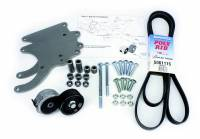 Air Conditioning & Heating - Air Conditioner Brackets - Alan Grove Components - Alan Grove Components Air Conditioning Bracket - LS Truck Motor - RH - Low Profile