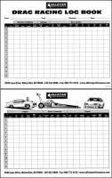 Timing & Scoring - Timing, Scoring & Checklist Sheets - Allstar Performance - Allstar Performance Drag Racing Log Book