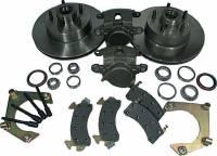 Brake Systems - Front Brake Kits - Circle Track - Allstar Performance - Allstar Performance Mustang II Front Disc Brake Kit