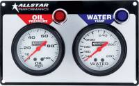 "Gauges and Data Acquisition - Allstar Performance - Allstar Performance 2 Gauge Panel (OP/WT) - 2-5/8"" Gauges"