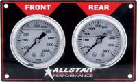 Dash Gauge Panels - Brake Bias Dash Panels - Allstar Performance - Allstar Performance Horizontal Brake Bias Gauge Panel