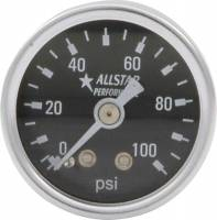 "Analog Gauges - Fuel Pressure Gauges - Allstar Performance - Allstar Performance 0-100 PSI 1-1/2"" Gauge"