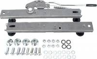 Seat Brackets, Mounts and Sliders - Adjustable Sliding Seat Mounts - Allstar Performance - Allstar Performance Seat Track Mounting Assembly - Adjustable - Not for Racing Use