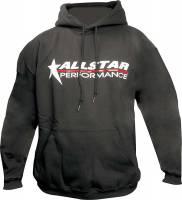 Crew Apparel - Allstar Performance - Allstar Performance Hooded Sweatshirt - Black - Large