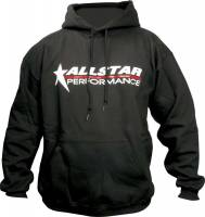 Crew Apparel - Allstar Performance - Allstar Performance Hooded Sweatshirt - Black - XX-Large