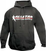 Shirts & Sweatshirts - Allstar Performance Sweatshirts - Allstar Performance - Allstar Performance Hooded Sweatshirt - Black - XXX-Large