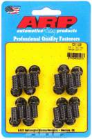"Exhaust Hardware and Fasteners - Header Bolts - ARP - ARP Black Oxide Header Bolt Kit - Hex - 3/8"" x .750"" Under Head Length (16 Pieces)"