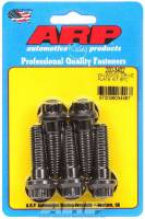 "Brake System - ARP - ARP 7/16-14"" Thread Drive Flange Bolt 1-1/2"" Long 12 Point Head Chromoly - Black Oxide"