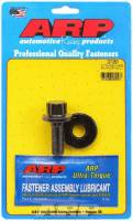 "Engine Hardware and Fasteners - Harmonic Balancer Bolts - ARP - ARP 14 mm x 1.50 Thread 1.525"" Long Harmonic Balancer Bolt 19 mm 12 Point Head Washer Included Chromoly - Black Oxide"