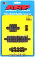 Engine Bolts & Fasteners - Oil Pan Bolts & Studs - ARP - ARP Black Oxide Oil Pan Stud Kit - SB Chevy 265-400 CID - 12-Point