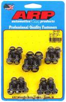 Oil Pan Parts & Accessories - Oil Pan Bolts & Studs - ARP - ARP Oil Pan Bolt Kit - Black Oxide - Hex Head - SB Ford, Cleveland