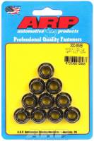 Engine Hardware and Fasteners - Replacement Nuts - ARP - ARP 10 mm x 1.50 Thread Nut 12 mm 12 Point Head Chromoly Black Oxide - Universal
