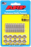 Engine Bolts & Fasteners - Timing Cover Stud Kits - ARP - ARP Stainless Steel Timing Cover Stud Kit - Hex - Chevrolet V8